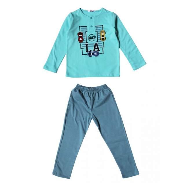 Пижама для мальчиков Samo цв. голубой р-р. 134