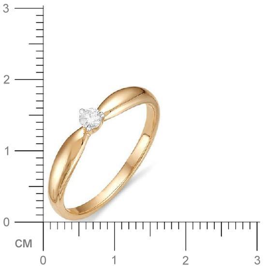 Кольцо женское АЛЬКОР 11588-100 р.18