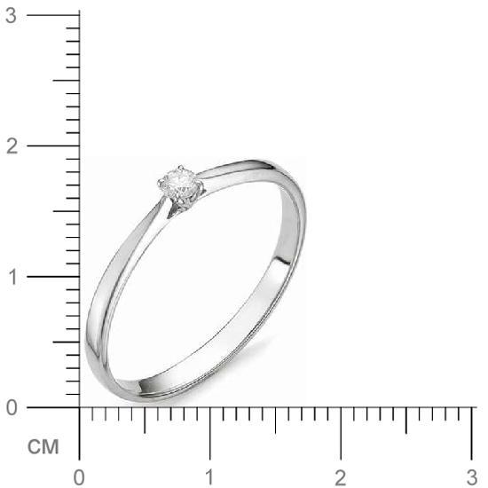 Кольцо женское АЛЬКОР 12066-200 р.18