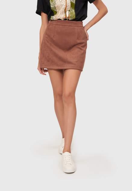 Женская юбка Modis M211W00343, коричневый