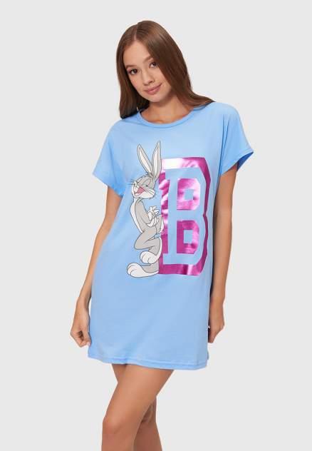Домашнее платье Modis M211U00500, голубой