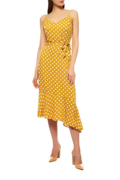Повседневное платье женское EMANSIPE 86159 желтое 42