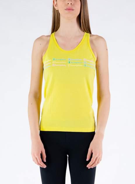 Майка женская Champion Legacy Color & Logo Tank Top, желтый