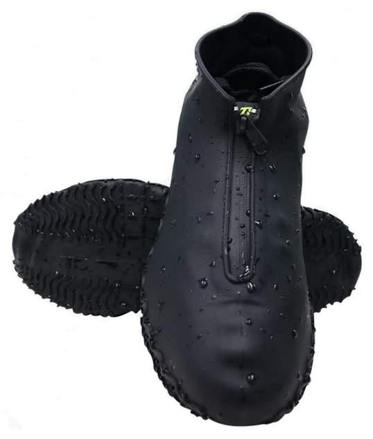 Силиконовые чехлы для обуви HagenStore на молнии черные L (41-45)
