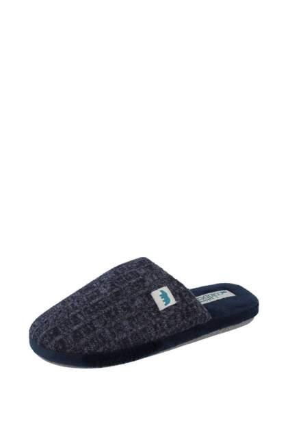 Домашние тапочки мужские de fonseca ROMA TOP I M630R1 синие 42-43 RU