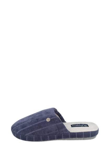 Домашние тапочки мужские de fonseca ROMA TOP I M640R1 синие 40-41 RU
