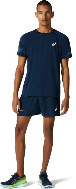 Футболка Asics Visibility SS, french blue/smoke blue, S