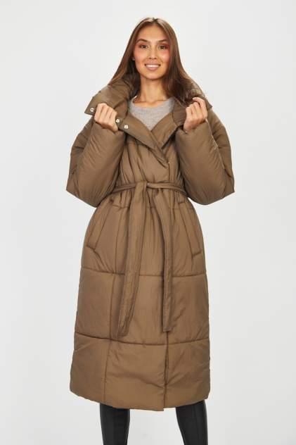 Пуховик женский Baon B031511, коричневый