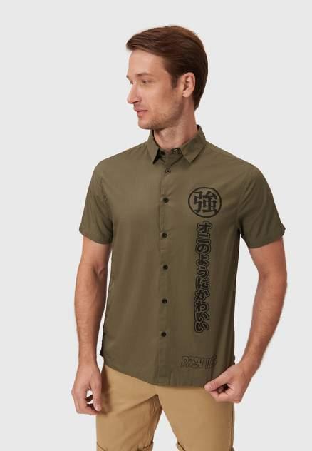 Рубашка мужская Modis M211M00325R504, зеленый