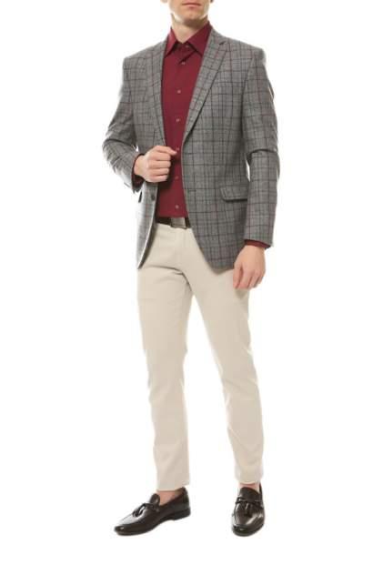 Рубашка мужская MARIO MACHADO ML-16 красная 44