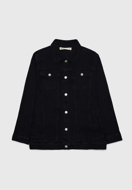 Женская джинсовая куртка Modis M212D00066B003, черный