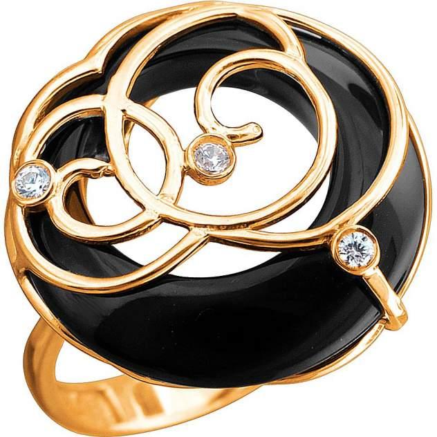 Кольцо женское Эстет 01К4510123А-1 р.22