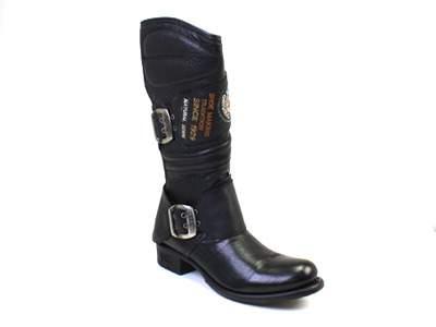 Сапоги мужские Newrock 35625 черные 36 RU