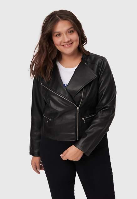 Женская кожаная куртка Modis M212W00599S642, черный