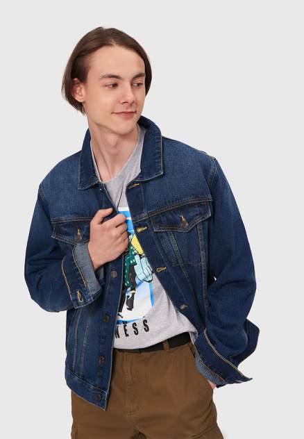 Мужская джинсовая куртка Modis M202D00143, синий