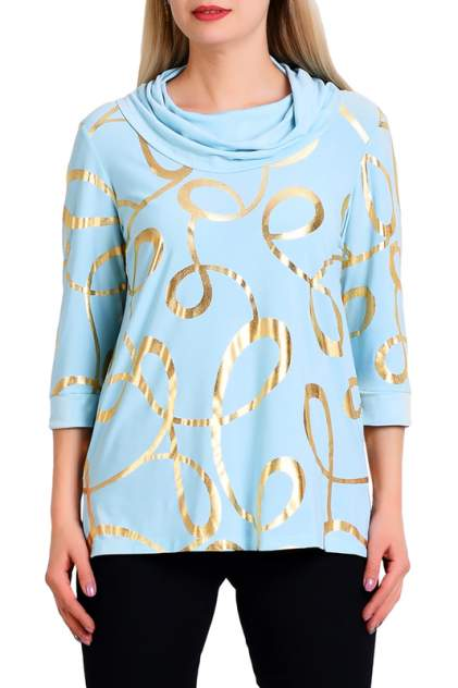 Блуза женская OLSI 1910015_3 голубая 56