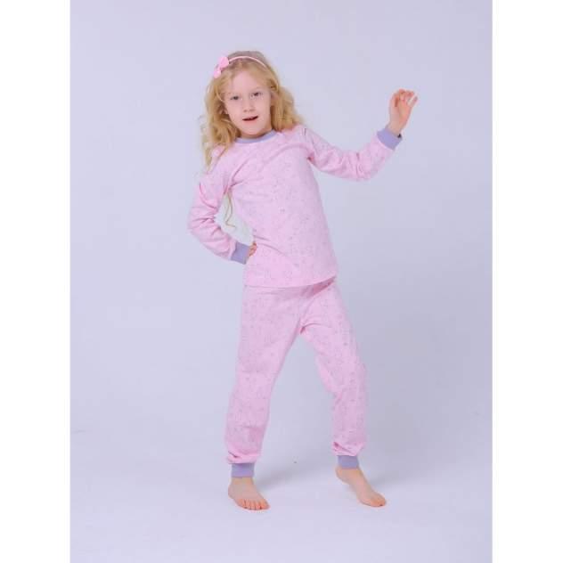 Пижама детская KOTTONI, цв. розовый