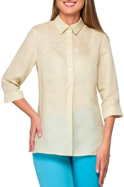 Рубашка женская Limonti 723801 бежевая 56