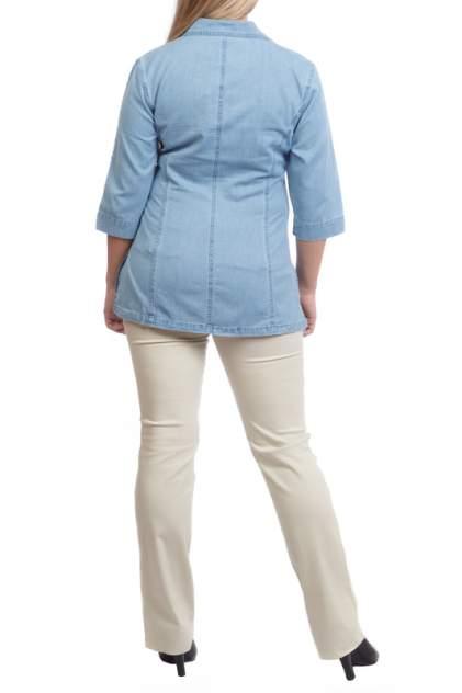Блуза женская LAFEI-NIER TH261T-J голубая XL