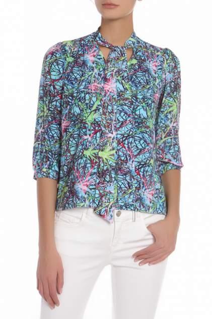 Блуза женская Olenny 3W 361302 голубая 42