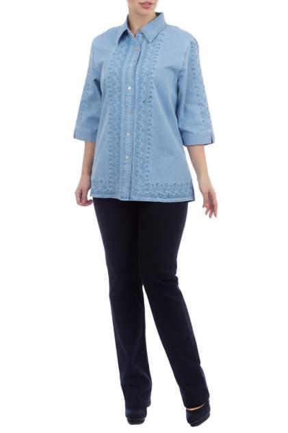 Женская джинсовая рубашка LAFEI-NIER T48302T-J, голубой