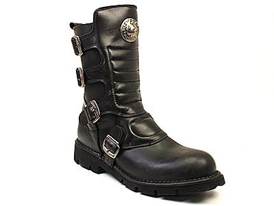 Полусапоги мужские Newrock 35774 черные 41 RU
