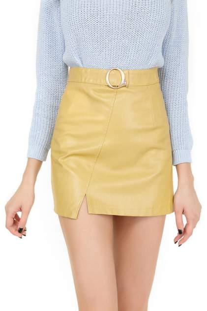 Женская юбка KATOMI 100002007, желтый