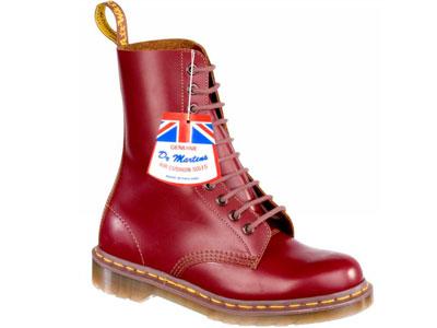Мужские ботинки Dr. Martens 45046, красный