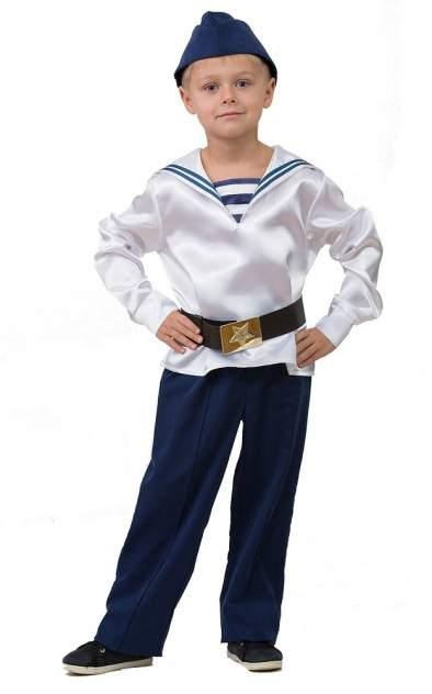Карнавальный костюм Матрос, парадный, размер 104-52