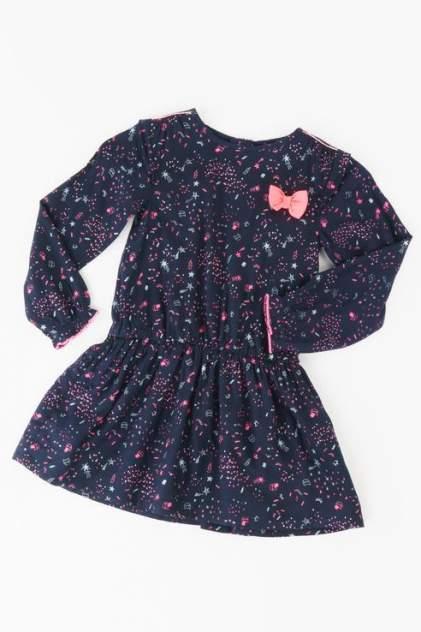 Платье для девочки 3pommes, цв.синий, р-р 86