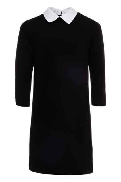 Платье для девочки Button Blue, цв.чeрный, р-р 128