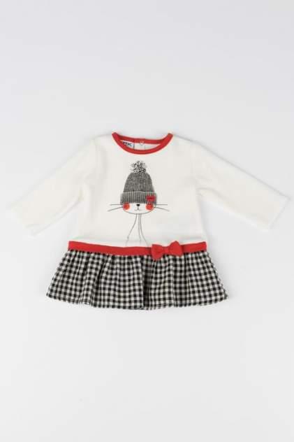Платье для девочки MEK, цв.белый, р-р 62