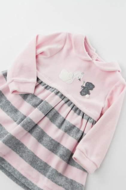 Платье для девочки Sarabanda, цв.розовый, р-р 62