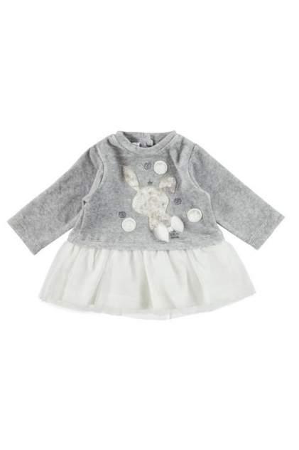 Платье для девочки iDO, цв.серый, р-р 74