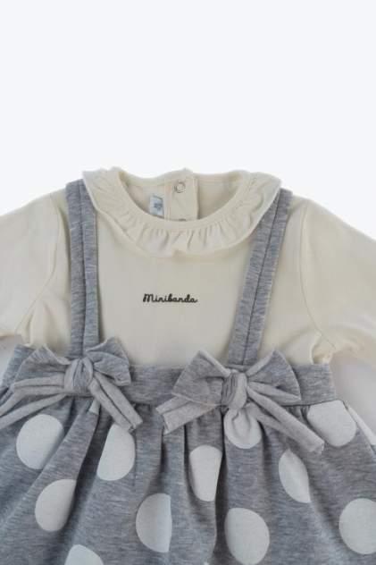 Платье для девочки Sarabanda, цв.серый, р-р 62