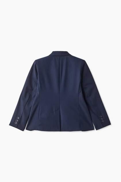 Пиджак для мальчика Button Blue, цв.синий, р-р 164