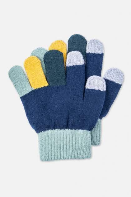 Перчатки детские PlayToday, цв.синий, р-р 16