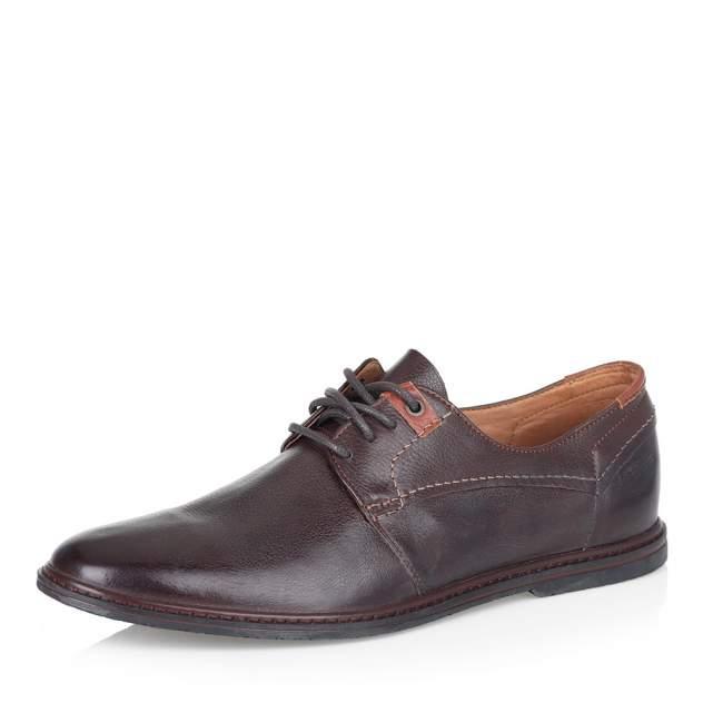 Туфли мужские Respect 42-2-204 коричневые 44 RU