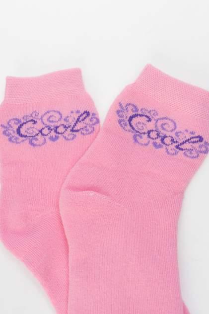 Носки детские Мой размер, цв. розовый р.16
