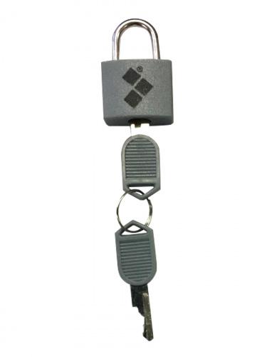 Замок Routemark mini серый