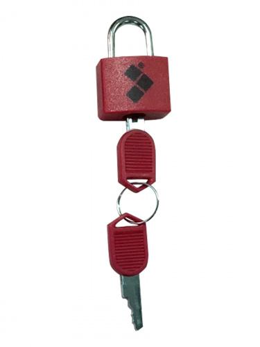 Замок Routemark mini красный