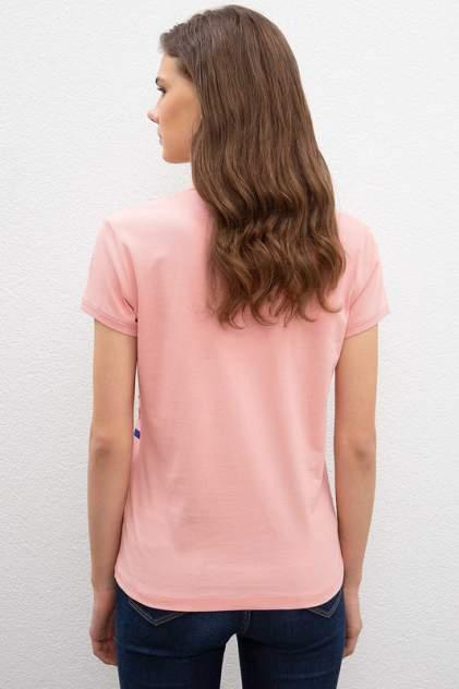 Поло женское U.S. POLO Assn. G082SZ0110ZALP розовое M