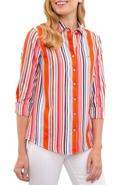 Рубашка женская U.S. POLO Assn. G082SZ0040WOLS розовая 36