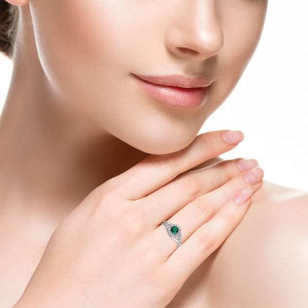 Кольцо женское Эстет 01К258520-2 р.17.5