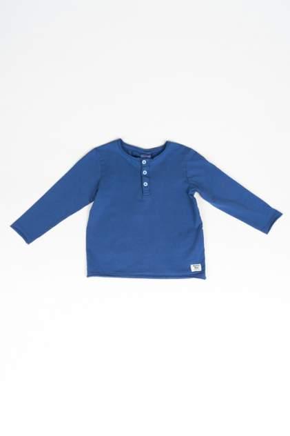 Лонгслив для мальчика Button Blue, цв.синий, р-р 116