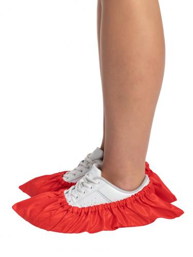 Бахилы для обуви RINIDI многоразовые взрослые Red