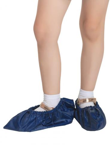 Бахилы для обуви RINIDI многоразовые детские Royal Blue