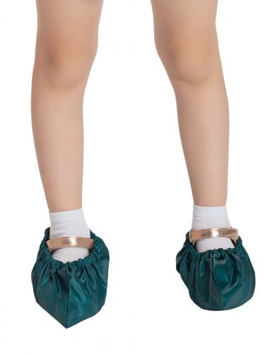 Бахилы для обуви RINIDI многоразовые детские Royal Green