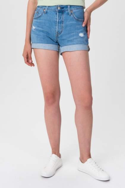 Джинсовые шорты женские Levi's 2996100200 голубые 44