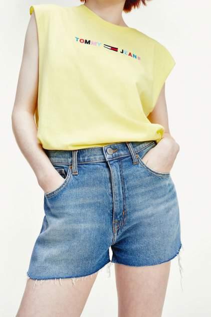 Женские шорты Tommy Jeans DW0DW08218, разноцветный